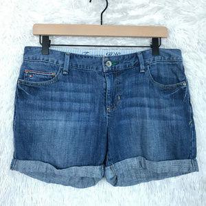 Tommy Hilfiger | Cuffed Mid Rise Denim Shorts 6